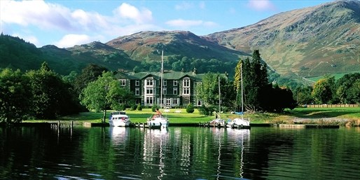 £149 -- Lake Ullswater Stay w/Gourmet Dinner & More, 48% Off