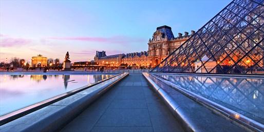 Vista desde el Museo del Louvre