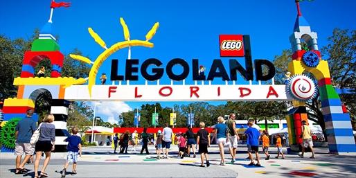 $62 -- LEGOLAND Florida Passes into March, Reg. $87