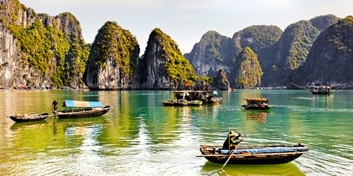 £999pp -- Vietnam Triple-Centre Holiday w/Cruise, Save £1300