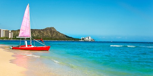 $299 -- Hawaii: 3-Night Oahu Escape near Waikiki, 55% Off