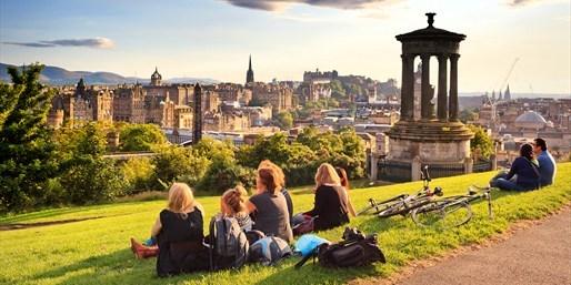 Vista de Edimburgo