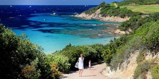 vue de la Corse
