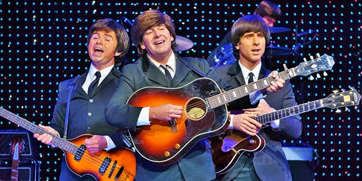 $15 -- Beatles Tribute Show at Saxe Theater, up to 80% Off
