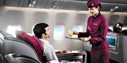 $4954* & up -- Business Class Flights on Luxe Airline, R/T