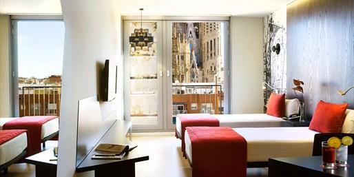 69€ -- Habitación Vista Sagrada Familia en 4* de Barcelona