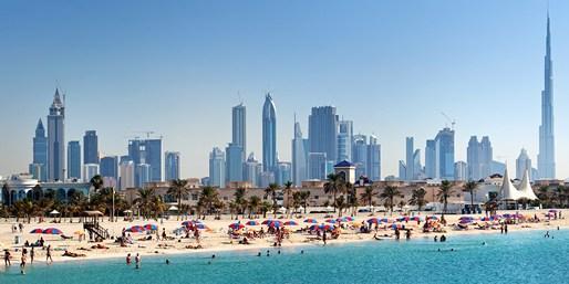 Skyline de Dubái