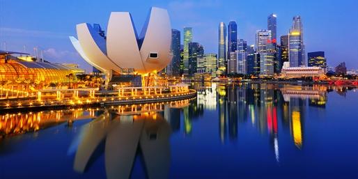 Skyline de Singapur