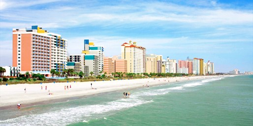Myrtle Beach Stays Through August, 25% Off, From $99