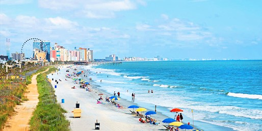 Oceanfront Myrtle Beach Suite Stay, Save 35%, From $169