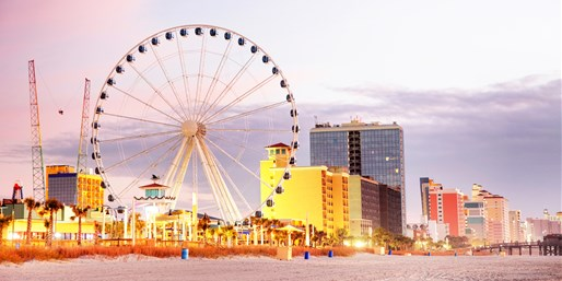 Myrtle Beach August Boardwalk Stay, 40% Off, From $69