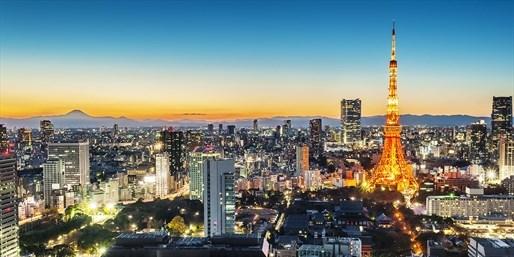 Panorámica de Tokyo