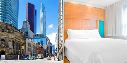 Travelzoo Deal: $75 -- Downtown Toronto Hotel w/Parking, incl. Weekends