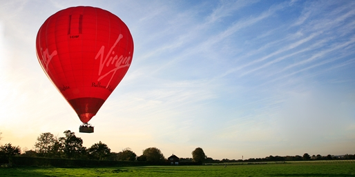 £99 -- Hot-Air Balloon Flight w/Champagne, Save 50%