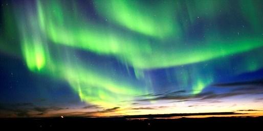¥189,800 -- 燃油込 直行便で行くチャンス アラスカ6日間 オーロラ鑑賞