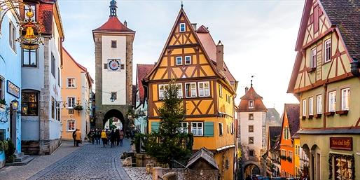 ¥164,900 -- 燃油込 ドイツ3都市クリスマス市&世界遺産巡りツアー 早割あり