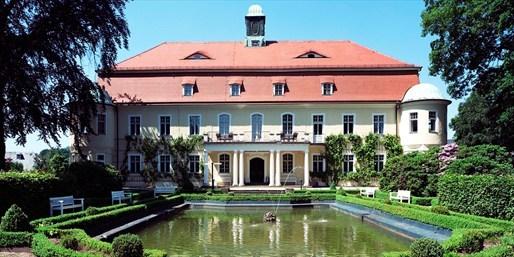 75 € -- Schlossurlaub in Sachsen mit Halbpension, -47%