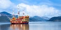 ¥499起 --【东京出发】富士山新五合目绝景+箱根海盗船一日游 午餐螃蟹随便吃