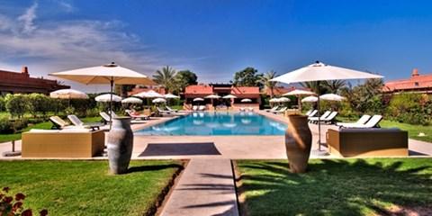 89€ -- Marrakech : luxe 5* au cœur de la Palmeraie, -52%