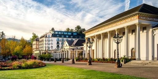 185 € -- Luxus-Tage im Dorint Baden-Baden mit Menü, -45%
