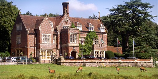 £79 -- Historic New Forest Manor Stay inc Meals, Was £160
