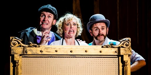£16 -- West End Comedy 'Potted Sherlock': Top Seats, 50% Off