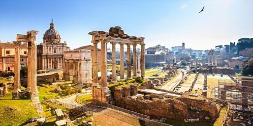 £149pp -- Rome 3-Night Deluxe City Break w/Flights & Upgrade
