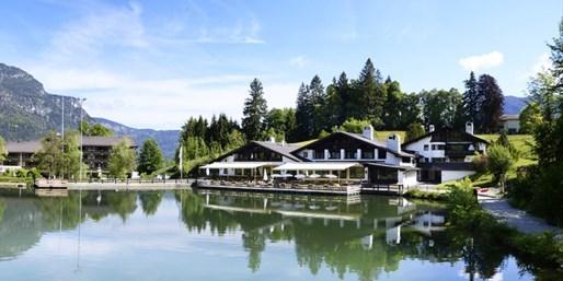 159 € -- Traumblick: Suitetage in Garmisch mit Menü, -36%