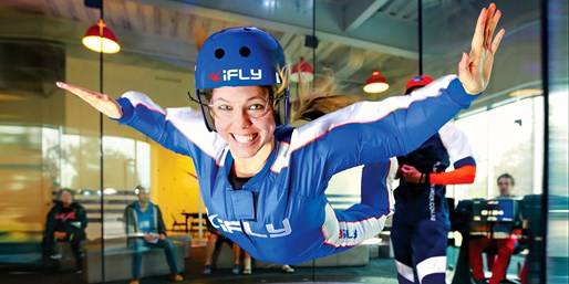 $25 -- Indoor Skydiving Experience w/Photos, Reg. $50
