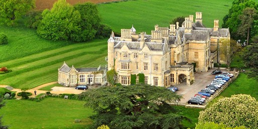 £99 -- Cotswolds Manor-House Stay w/Meals & Cream Tea