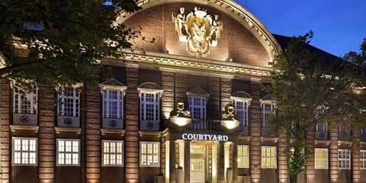 88 € -- Historisches Marriott für 2 in Bremen, -40%