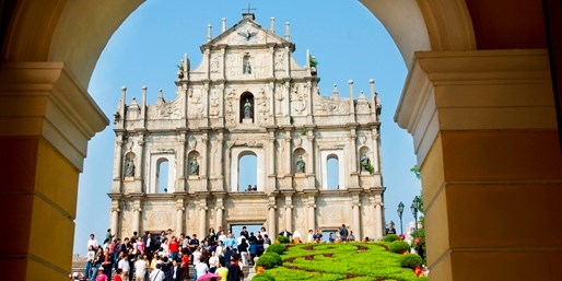 £875pp & up -- Macau & the Far East, Save up to £400