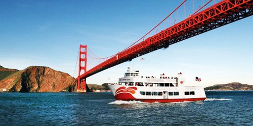 $15 -- Golden Gate Bay Cruise w/Red & White Fleet, Reg. $28