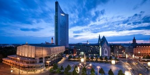 129 € -- Radisson Leipzig: 3 Tage mit Menü & Bootstour, -40%