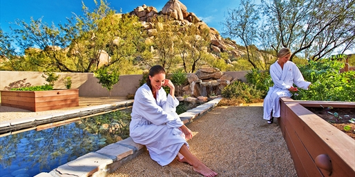 $199 -- Boulders Spa Day w/Massage & Facial, Reg. $300