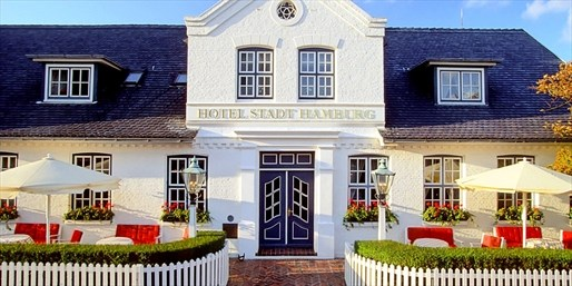 229 € -- Schönstes Hotel auf Sylt für 2 & Gourmetmenü, -40%