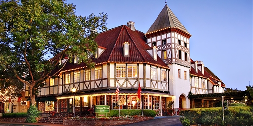 Travelzoo Deal: $99 -- Solvang 4-Star Inn Escape w/Wine Tastings, Reg. $181