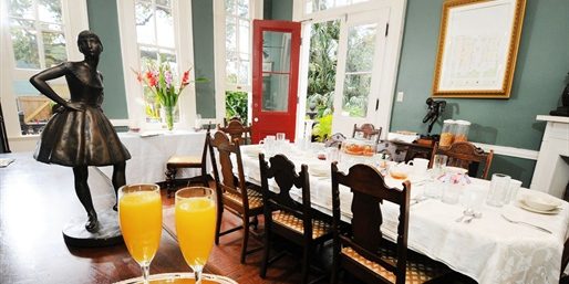 $16 & up -- Degas House: Tours & Creole Breakfast w/Mimosa