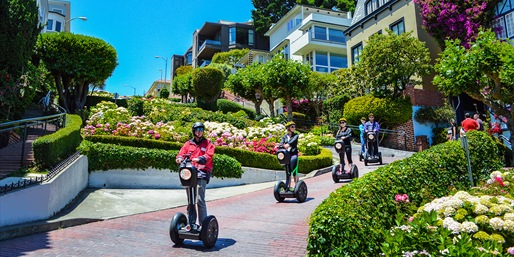 $38 -- SF Segway Tours incl. Golden Gate Park & Waterfront