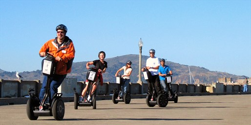 Private Segway Tour of Wharf, GG Park or Chinatown, Half Off