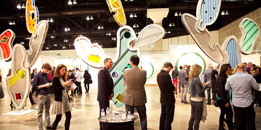 $10 -- 20th Annual LA Art Show: 40% Off Admission