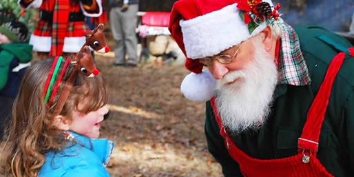 $10 & up -- Holiday Light Wonderland w/Santa & His Reindeer