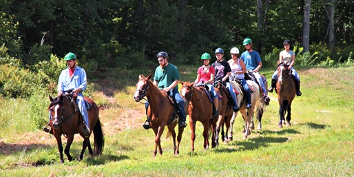 $38 -- Guided Horseback Trail Ride w/Zoo Pass, Reg. $77