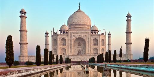 Taj Mahal, una de las siete maravillas del mundo