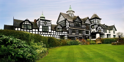 £89 -- Historic Tudor-Style Cheshire Stay w/Dinner, Was £159