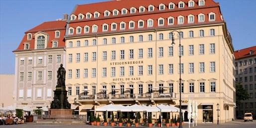 198 € -- Dresden: Steigenberger an der Frauenkirche für 2