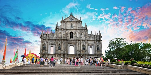 Fly to Macao, China, R/T, From New York City