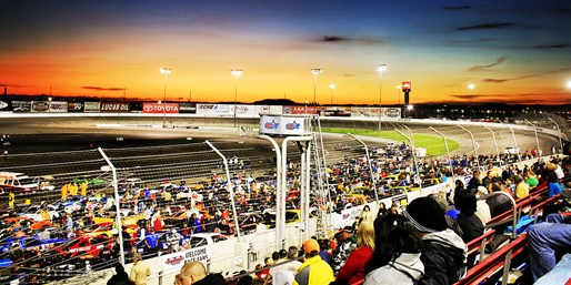 $25 -- NASCAR Race Tickets, Meal & Go-Karts for 2, Reg. $68