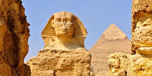 Gran Esfinge de Giza (ribera occidental del Nilo)