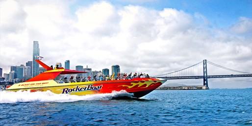 $12 -- High-Speed Boat Ride on SF Bay, Reg. $25